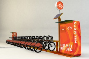 Sanitary On Demand Helmet Solution
